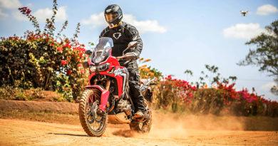 Teste com a Honda Africa Twin