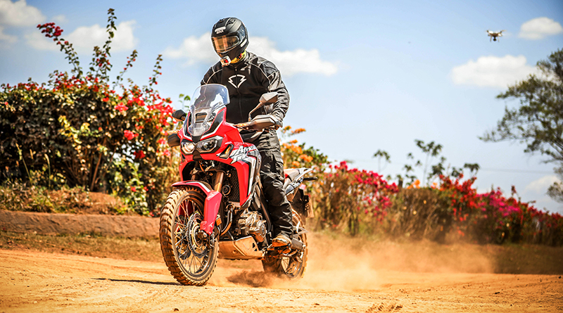 Testamos as versões da Honda Africa Twin