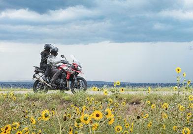 moto na estrada